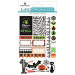 Paper House Productions - Life Organized Collection - Cardstock Stickers - Labels - Halloween