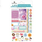 Paper House Productions - Life Organized Collection - Cardstock Stickers - Labels - Kawaii