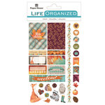 Paper House Productions - Life Organized Collection - Cardstock Stickers - Labels - Autumn Woods