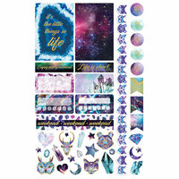 Paper House Productions - Life Organized Collection - Planner Stickers - Stargazer with Foil Accents