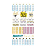 Paper House Productions - Life Organized Collection - Planner Stickers - Trackers with Foil Accents