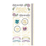 Paper House Productions - Life Organized Collection - Planner Stickers - Decorations with Foil Accents