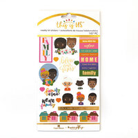 Paper House Productions - This Is Us Collection - Weekly Planner Kits - Stickers - Family is Love
