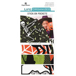 Paper House Productions - Life Organized Collection - Stick-On Pockets - Halloween