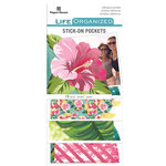 Paper House Productions - Life Organized Collection - Stick-On Pockets - Embrace Today