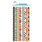 Paper House Productions - Life Organized Collection - Rice Paper Stickers - Borders - Outdoors