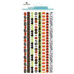 Paper House Productions - Life Organized Collection - Rice Paper Stickers - Borders - Halloween