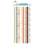 Paper House Productions - Life Organized Collection - Rice Paper Stickers - Borders - Autumn Woods