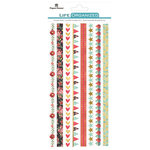 Paper House Productions - Life Organized Collection - Rice Paper Stickers - Borders - Everyday Moments