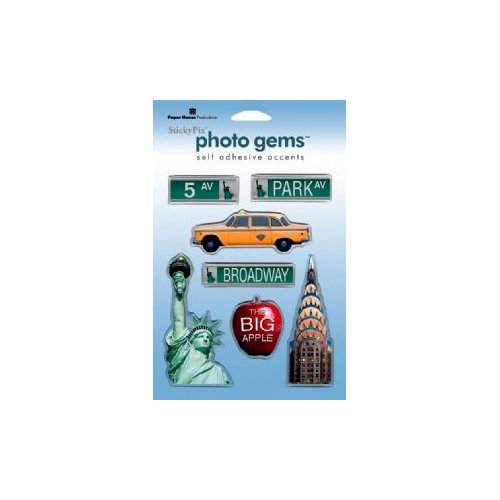 Paper House Productions - New York City Collection - Epoxy Stickers - New York City