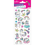 Paper House Productions - Cardstock Stickers - Scratch and Sniff - Unicorn - Whipped Cream Scent