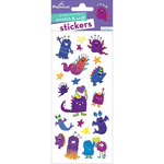 Paper House Productions - Cardstock Stickers - Scratch and Sniff - Monsters - Grape Scent