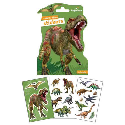 Paper House Productions - Sticker Packs - Dinosaurs