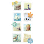 Paper House Productions - Snap Shots - Cardstock Stickers - At the Shore