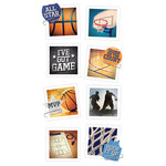 Paper House Productions - Snap Shots - Cardstock Stickers - Basketball