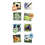 Paper House Productions - Snap Shots - Cardstock Stickers - Soccer