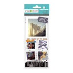 Paper House Productions - Snap Shots - Cardstock and Clear Stickers - New York City