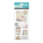 Paper House Productions - Snap Shots - Cardstock and Clear Stickers - Washington DC