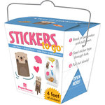 Paper House Productions - Stickers to Go - Otters