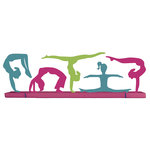 Paper House Productions - 3 Dimensional Stickers with Glitter Accents- Gymnastics
