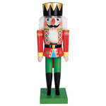 Paper House Productions - Christmas - 3 Dimensional Stickers with Glitter Accents - Nutcracker