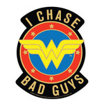 Paper House Productions - Wonder Woman Collection - Stickers - I Chase Bad Guys