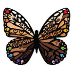 Paper House Productions - Stickers - Diversity Butterfly
