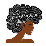 Paper House Productions - Goldmine and Coco Collection - Stickers - Melanin Poppin
