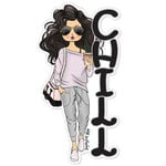 Paper House Productions - Sugar Gal Shop Collection - Chill Girl - Set One