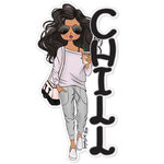 Paper House Productions - Sugar Gal Shop Collection - Chill Girl - Set Two