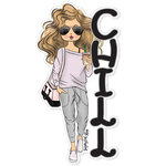 Paper House Productions - Sugar Gal Shop Collection - Chill Girl - Set Three