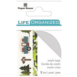 Paper House Productions - Life Organized Collection - Washi Stickers - Outdoors with Foil Accents
