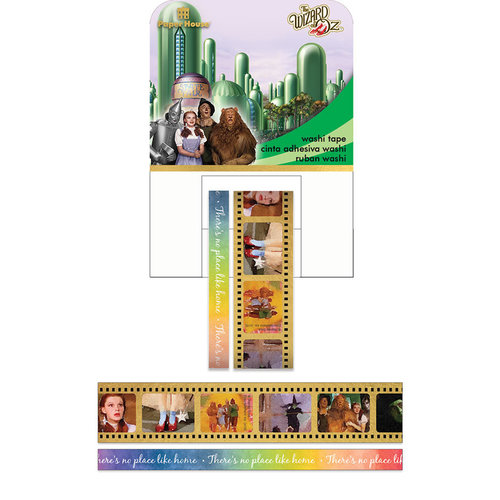 Paper House Productions - StickyPix - Washi Tape - Wizard of Oz with Foil Accents