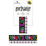 Paper House Productions - StickyPix - Washi Tape - Hearts Pattern with Foil Accents