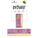 Paper House Productions - StickyPix - Washi Tape - Lotus with Foil Accents