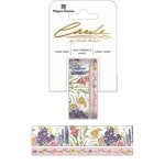 Paper House Productions - StickyPix - Washi Tape - Wildflowers with Foil Accents