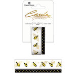 Paper House Productions - StickyPix - Washi Tape - Bees with Foil Accents