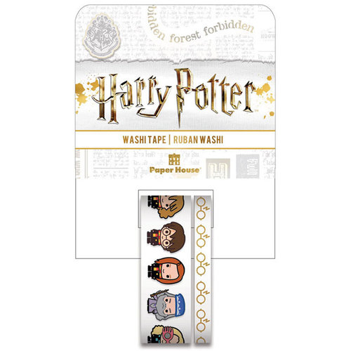 Paper House Productions - StickyPix - Washi Tape - Harry Potter - Chibi