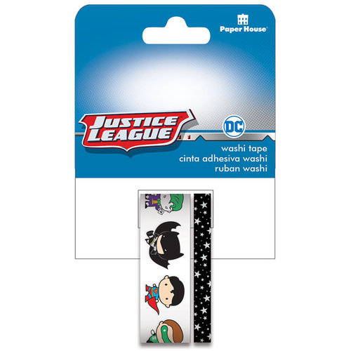Paper House Productions - Washi Tape - Justice League - Chibi Characters