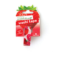 Paper House Productions - Washi Tape - Scratch and Sniff - Strawberry
