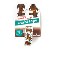 Paper House Productions - Washi Tape - Scratch and Sniff - Chocolate Labs