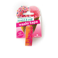 Paper House Productions - Washi Tape - Scratch and Sniff - Strawberry Ice Cream