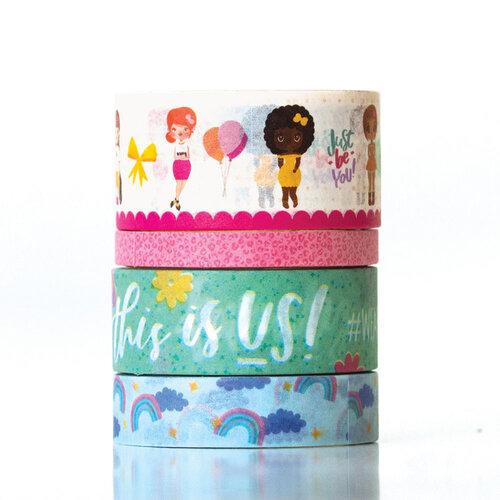 Paper House Productions - This Is Us Collection - Washi Tape - Mommy Lhey