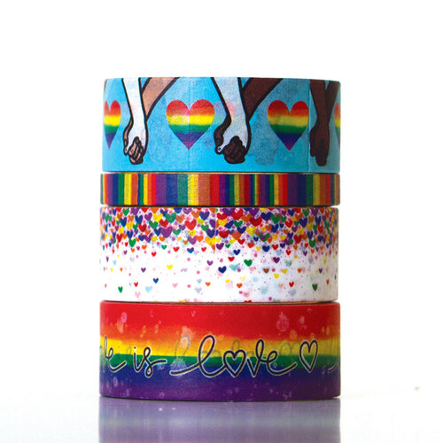 Paper House Productions - This Is Us Collection - Washi Tape - Pride