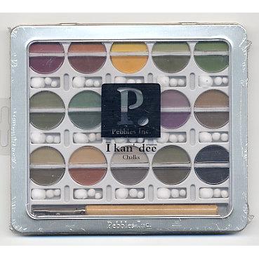 Pebbles - I kan'dee Chalks - Earth Tones