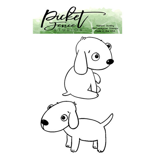 Picket Fence Studios - Clear Photopolymer Stamps - Puppy Love