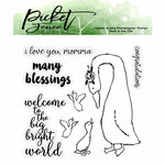 Picket Fence Studios - Clear Photopolymer Stamps - I love You, Momma