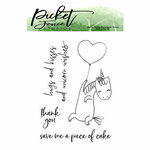 Picket Fence Studios - Clear Photopolymer Stamps - For You