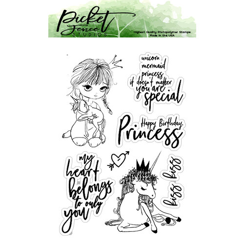 Picket Fence Studios - Clear Photopolymer Stamps - Kylee