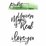 Picket Fence Studios - Clear Photopolymer Stamps - Unicorns are Real